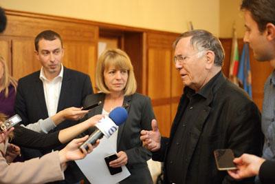 Кметът Йорданка Фандъкова заедно с Ян Геел @Гео Калев