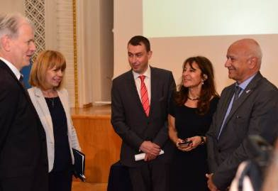 Фандъкова участва в обществен форум за зелена София Фотограф: Йордан Симеонов