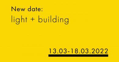 Нова дата: Light + Building се отлага за провеждане при нормални условия през 2022 г.